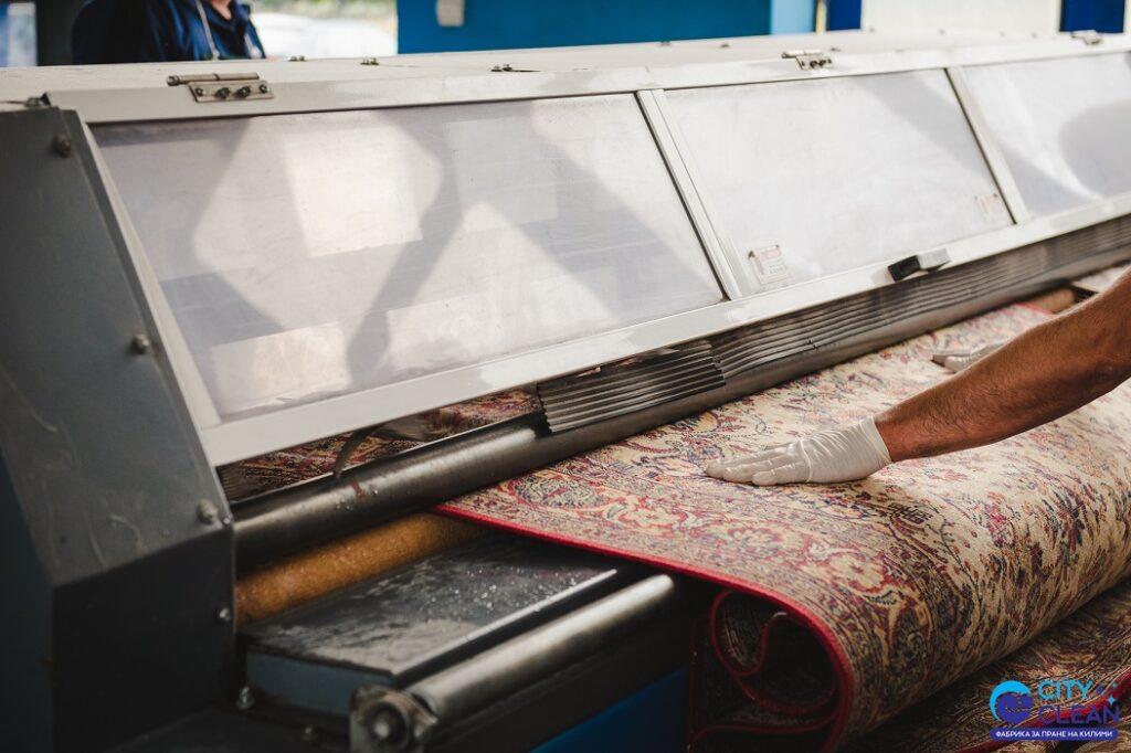 Машинно изтупване на килими в Благоевград
